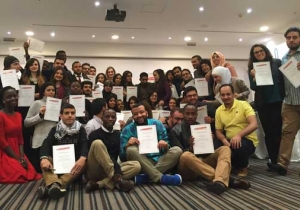 Workshop in Jordan with dynamic young leaders from the MENA region