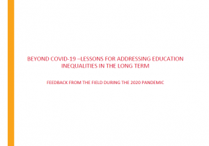 Beyond COVID-19 – Lessons for Addressing Education Inequalities in the Long Term