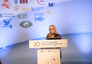 Dr Pigozzi Addresses the 10th Seoul ODA International Conference