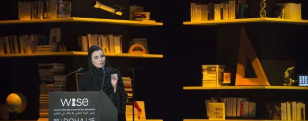 HH Sheikha Moza bint Nasser 's opening keynote address at WISE 2015