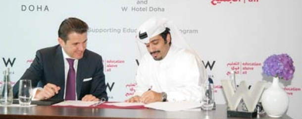 Education Above All and W Doha Hotel & Residences