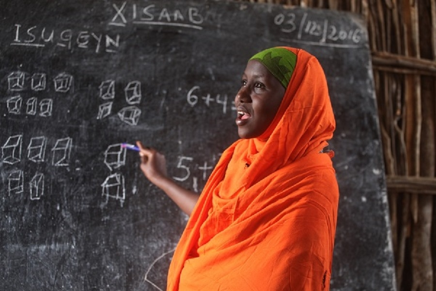 Going to School for the First Time: Educate A Child and UNICEF Somalia are Expanding Access to Education