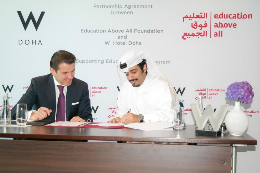 Education Above All And W Doha Hotel Residences Educate A Child